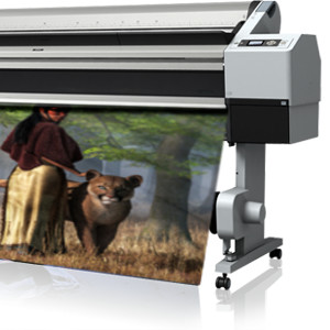 Print On Demand - A large format printer