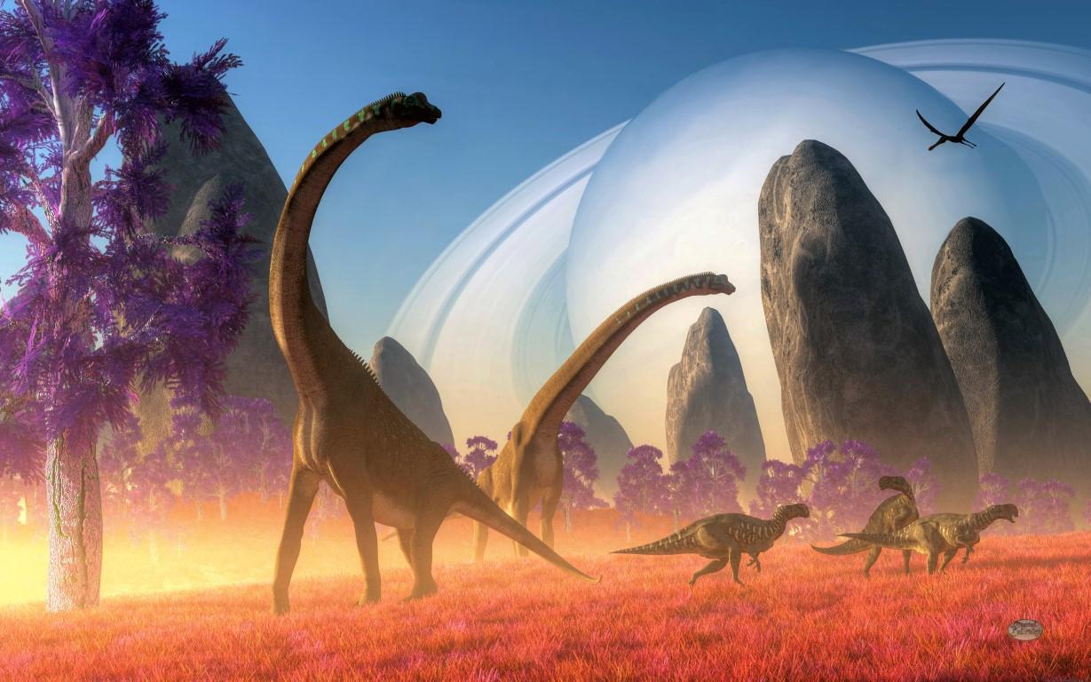 Dinosaur Moon